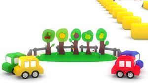 cartoon car cartoon fruit farm cartoon cars kids funny videos children funny