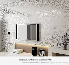 3d luxury golden wallpaper roll for walls damask murals for tv