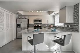 Kitchen Backsplash For White Cabinets 30 Gray And White Kitchen Ideas Designing Idea