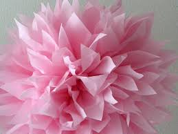 tissue paper decorations cotton candy tissue paper pompom blush pink decorations