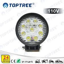 110v led work light 110v round 4inch led working l forklift work light tp922 blue