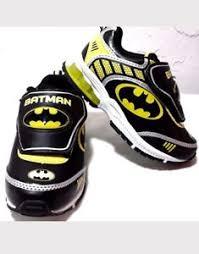 light up shoes size 12 batman dc comics boy s premium athletic sneakers shoes light