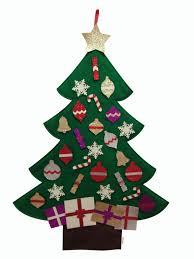 Glitter Christmas Decorations by 3ft Felt Glitter Christmas Tree New Edition 2017 Mushy Moments Tm