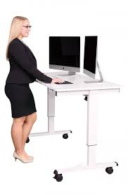dual monitor stand up desk awesome adjustable stand up desk with monitor mount stand up desk