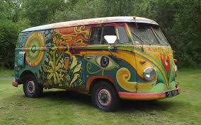 volkswagen van hippie hippie van under the hammer u2013 psychedelic type 2 vw up for auction