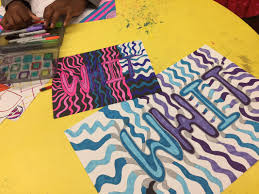 pattern art name playing the name game ms holloway s art class