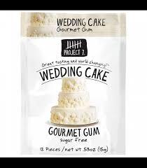 wedding cake gum project 7 wedding cake sugar free gourmet gum 0 53oz 15g
