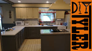 Kitchen Cabinets Chalk Paint by Modify And Refinish Kitchen Cabinets With Chalk Paint 031 Youtube