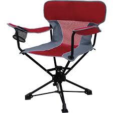 Football Swivel Chair by Ozark Trail Portable Swivel Chair Walmart Com