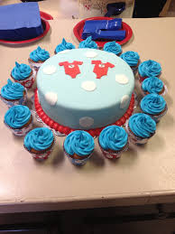 thing 1 and thing 2 baby shower cake for twins cakes by me