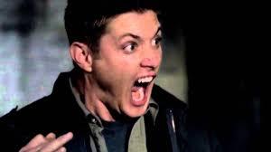 Scream And Shout Meme - deam scream supernatural blank template imgflip