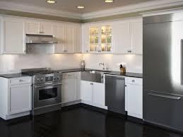 Best  Dark Kitchen Cabinets Ideas On Pinterest Dark Cabinets - White kitchen with white backsplash