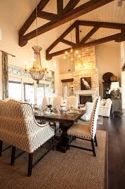 Southern Dining Rooms 2013 Southern Living Showcase House Cottage Dining Room With