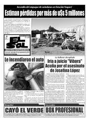 diario el sol miércoles 28 septiembre 2016 by diario el sol issuu