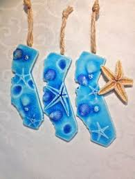 happy hanukkah ceramic of david ornaments with recycled glass