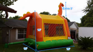 Backyard Inflatables Does Your Backyard Measure Up For Inflatables U2013 Herecomesfun