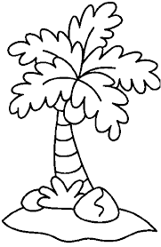 coloring pictures of a palm tree coconut clipart coloring page many interesting cliparts