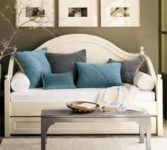 diy turn your trundle bed into a sofa design inspiration