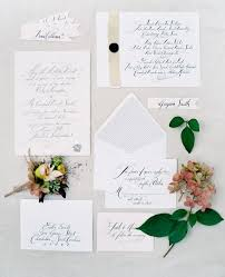 wedding invitations calligraphy all about calligraphy weddings illustrated