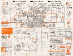 Las Vegas Strip Map Monorail by 1960 Las Vegas Strip Map Virginia Map