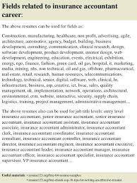sample resume for account executive top 8 insurance accountant