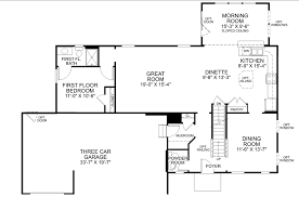 floor plan doors floor plan a palermo with ryan homes