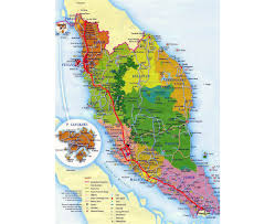 Map Of Western Asia by Maps Of Malaysia Detailed Map Of Malaysia In English Tourist