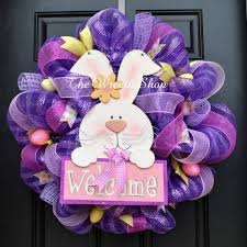 how to make easter wreaths another beautiful handmade easter wreaths collection