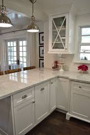White Cabinets Kitchens Best 25 Breakfast Bar Kitchen Ideas On Pinterest Kitchen Bars
