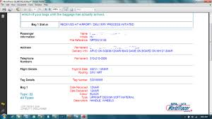 United Baggage Lost What To Do When Bag Is Delayed File Property Irregularity Report