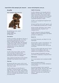 Child Care Provider Duties For Resume Gorgeous Design Pet Sitter Resume 5 Professional Resume Templates