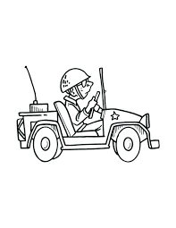 military jeep coloring page jeep coloring pages army tank coloring page viewing gallery for army