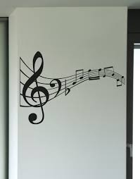 vinyl wall decal sticker music notes kriley125