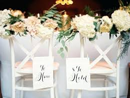 chair decorations fantastic wedding chair decoration white wooden and groom