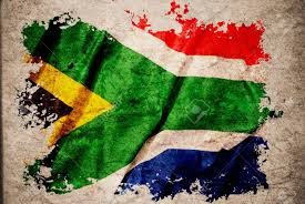 Use Flag South Africa Flag On Old Vintage Paper Can Be Use For Background