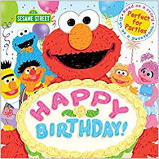 happy birthday birthday party book sesame street scribbles