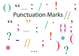 teaching punctuation