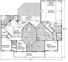 southern style house plan 4 beds 3 baths 1992 sq ft plan 56 152