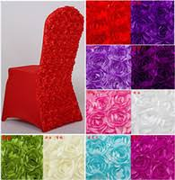 rosette chair covers wholesale rosette chair covers buy cheap rosette chair covers