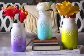 Summer Home Decor A Summer Home Decor Update Easy Peasy Diy Ombre Mason Jars Kate