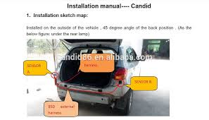 Blind Spot Detection System Installation Car Blind Spot Information System Blind Spot Detection Car Alarm