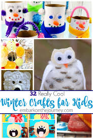 32 really cool winter crafts for kids of all ages winter months