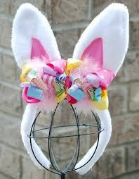 easter hair bows big girl toddler boutique hair bows