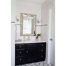 Wood Framed Mirrors For Bathroom by Silver Metallic Mirrors Wall Decor The Home Depot