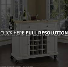 small kitchen island with wine rack outofhome kitchen decoration