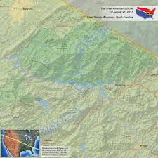Smoky Mountains Map North Carolina Eclipse U2014 Total Solar Eclipse Of Aug 21 2017