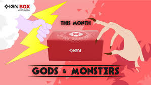 theme pictures this month s ign mystery box theme is gods and monsters ign