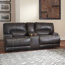 Power Reclining Loveseat Mccaskill Gray Power Reclining Sectional Sectionals Living