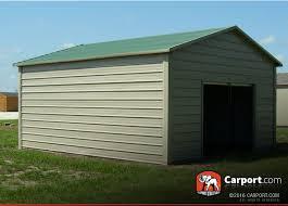 metal garage 12 u0027 x 21 u0027 boxed eave roof shop metal buildings online