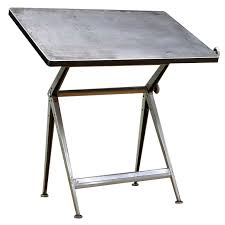 Drafting Tables Toronto Mid Century Dutch Modern Rietveld Steel Reply Drafting Table For